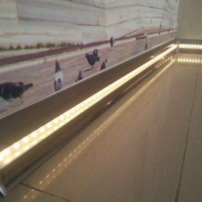 LED'li Süpürgelik
